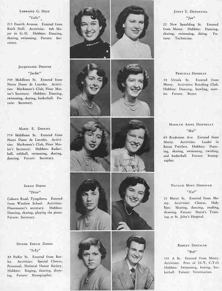 The Spindle Class Of 1951 A I